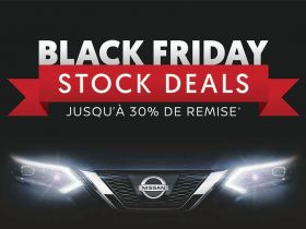 Black Friday chez NISSAN CAR Avenue Luxembourg